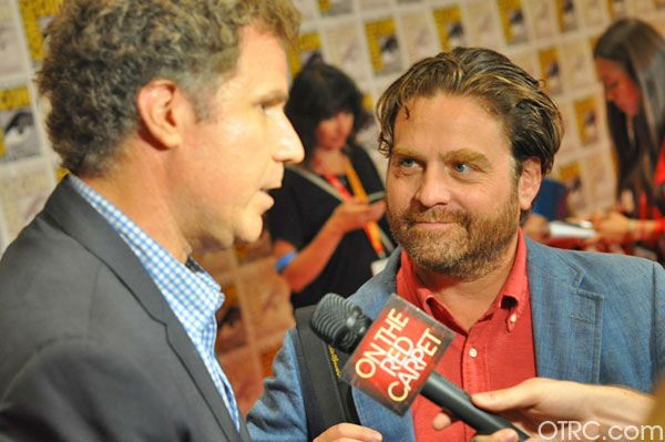 Will Ferrell and Zach Galifianakis of &#39;The Campaign&#39;appear in a photo at San Diego Comic-Con on Saturday, July 14, 2012. <span class=meta>(OTRC Photo)</span>