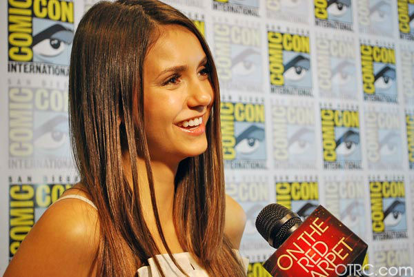 Nina Dobrev of &#39;The Vampire Diaries&#39; appears in a photo at San Diego Comic-Con on Saturday, July 14, 2012. <span class=meta>(OTRC Photo)</span>