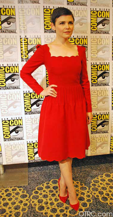 'Once Upon a Time' star Ginnifer Goodwin appears in a photo at San Diego Comic-Con on Saturday, July 14, 2012.