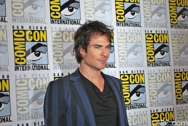 "<div class=""meta ""><span class=""caption-text "">Ian Somerhalder of 'The Vampire Diaries' appears in a photo at San Diego Comic-Con on Saturday, July 14, 2012. (OTRC Photo)</span></div>"