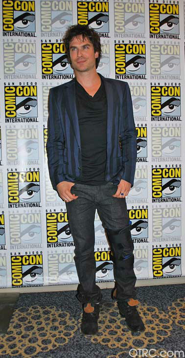 Ian Somerhalder of &#39;The Vampire Diaries&#39; appears in a photo at San Diego Comic-Con on Saturday, July 14, 2012. <span class=meta>(OTRC Photo)</span>