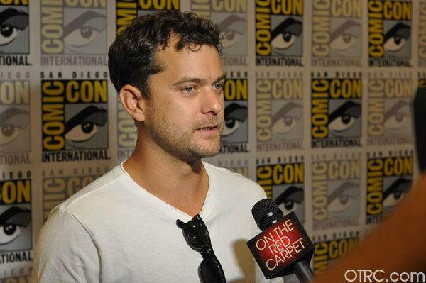 Joshua Jackson of 'Fringe' appears in a photo at...