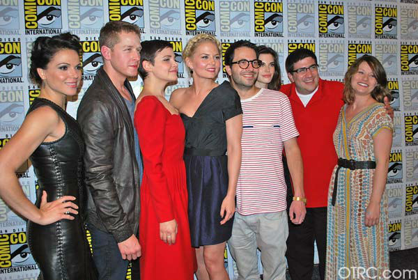 The cast of &#39;Once Upon a Time&#39; appear in a photo at San Diego Comic-Con on Saturday, July 14, 2012.  <span class=meta>(OTRC Photo)</span>