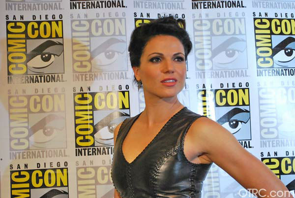 "<div class=""meta ""><span class=""caption-text "">Lana Parrilla of 'Once Upon a Time' appears in a photo at San Diego Comic-Con on Saturday, July 14, 2012. (OTRC Photo)</span></div>"