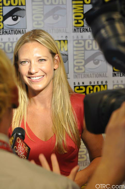 Anna Torv of 'Fringe' appears in a photo at San...