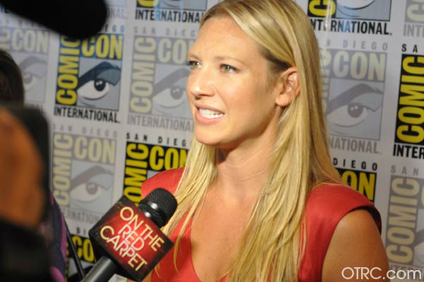 Anna Torv of 'Fringe' appears in a photo at San Diego Comic-Con on Sunday, July 15, 2012.