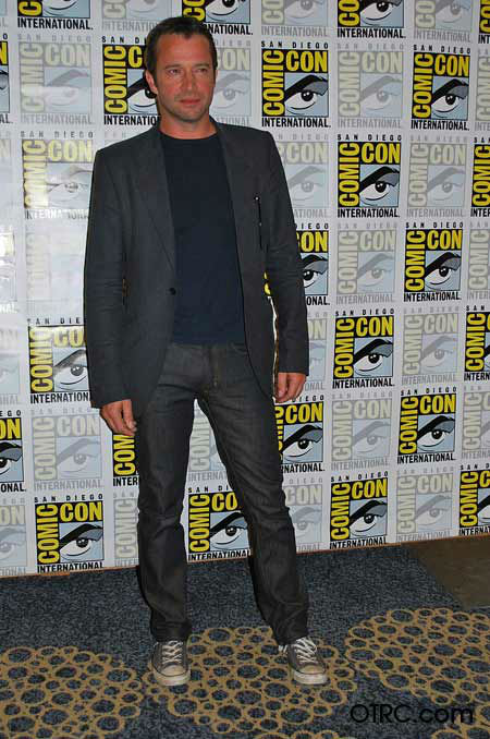 &#39;The Following&#39; star James Purefoy appears in a photo at San Diego Comic-Con on Saturday, July 14, 2012. <span class=meta>(OTRC Photo)</span>