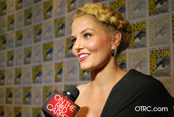 "<div class=""meta ""><span class=""caption-text "">'Once Upon a Time' star Jennifer Morrison appears in a photo at San Diego Comic-Con on Saturday, July 14, 2012. (OTRC Photo)</span></div>"