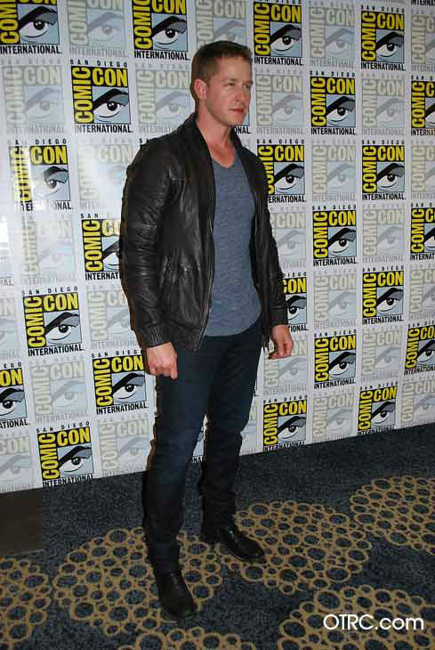 &#39;Once Upon a Time&#39; star Josh Dallas appears in a photo at San Diego Comic-Con on Saturday, July 14, 2012. <span class=meta>(OTRC Photo)</span>