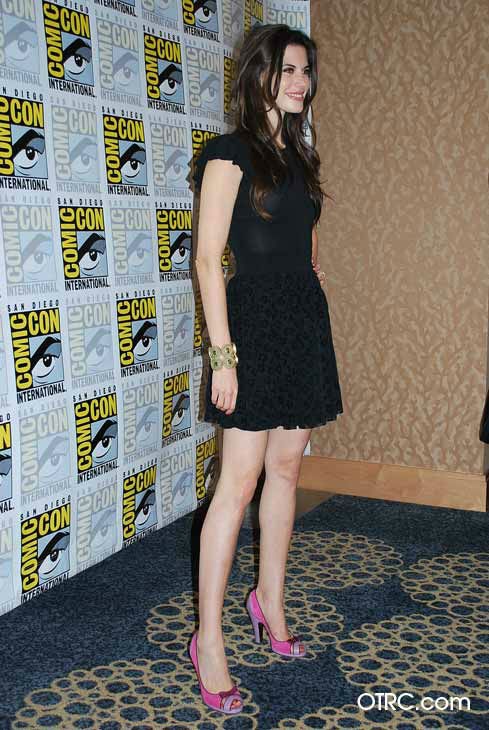 "<div class=""meta ""><span class=""caption-text "">'Once Upon a Time' star Meghan Ory appears in a photo at San Diego Comic-Con on Saturday, July 14, 2012. (OTRC Photo)</span></div>"
