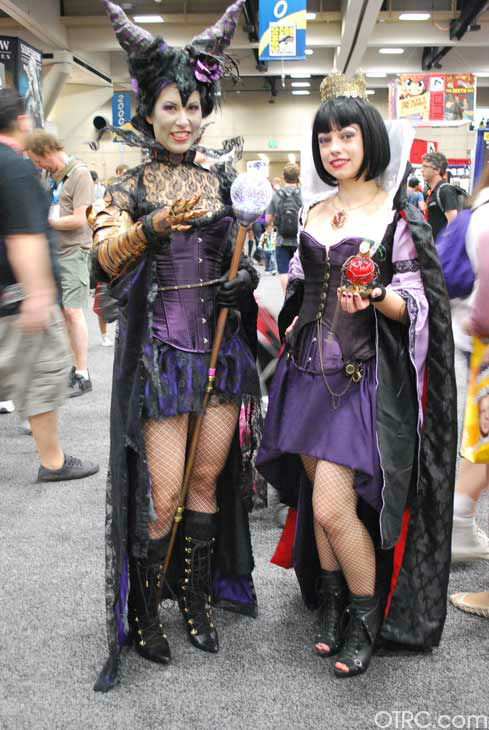 Fans dressed in costumes appear in a photo at San Diego Comic-Con on Sunday, July 15, 2012.