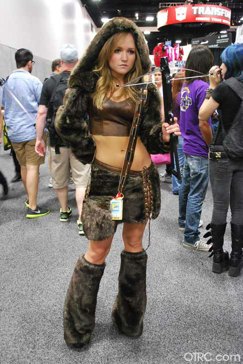 A fan dressed in costume appears in a photo at San Diego Comic-Con on  sc 1 st  Comic-Con Pictures Costumes at San Diego Comic-Con 2012 | Photos ... & Comic-Con Pictures Costumes at San Diego Comic-Con 2012 | Photos ...