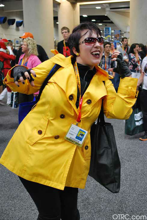 A fan dressed in costume appears in a photo at San Diego Comic-Con on Sunday, July 15, 2012. <span class=meta>(OTRC Photo)</span>