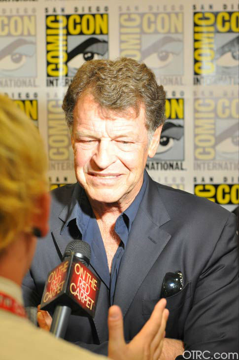 John Noble of &#39;Fringe&#39; appears in a photo at San Diego Comic-Con on Sunday, July 15, 2012. <span class=meta>(OTRC Photo)</span>