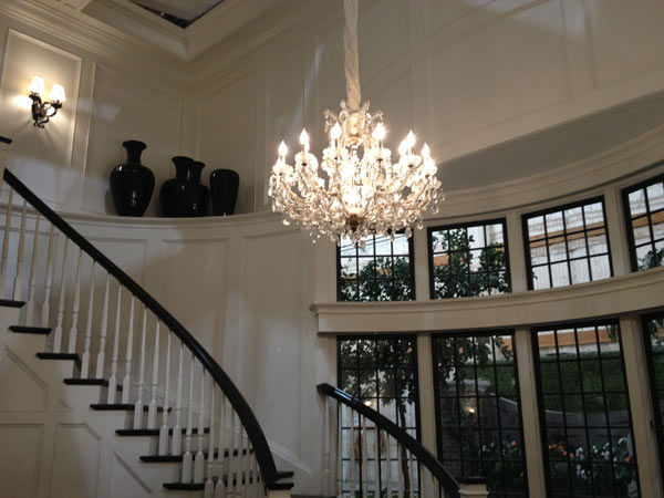 Pictured is the inside of Grayson Manor from the...