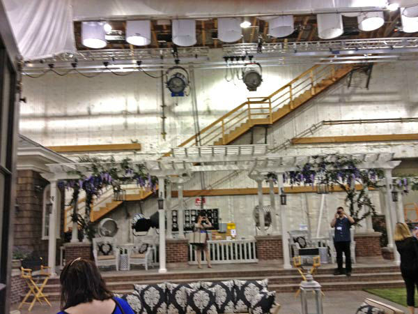 Pictured is Grayson Manor from the set of the...