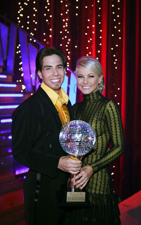 Apolo Anton Ohno appears in a still from the 2007 season 4 of 'Dancing With The Stars.'