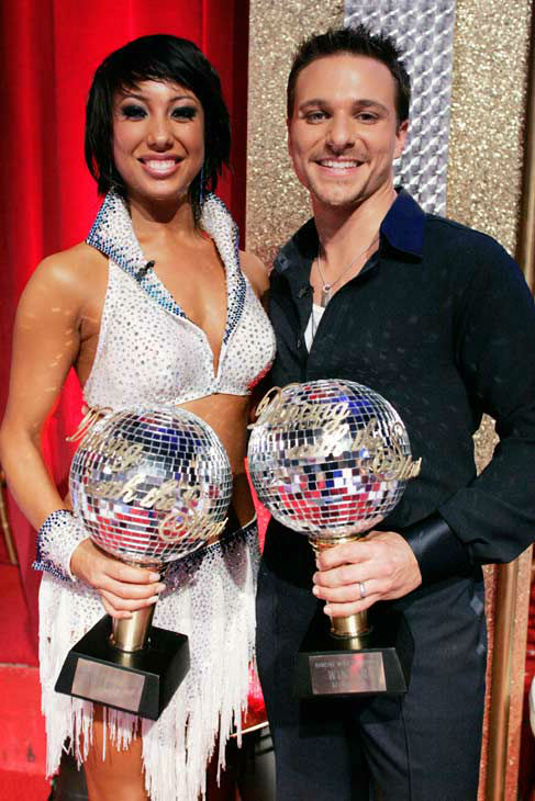 Drew Lachey  appears in a still from the 2006 season of 'Dancing With The Stars.'