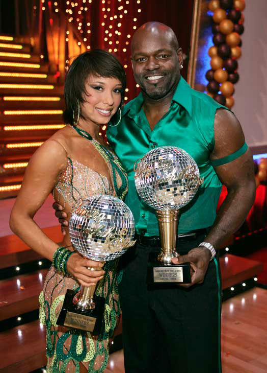 Emmitt Smith appears in a still from the 2006 season of 'Dancing With The Stars.'