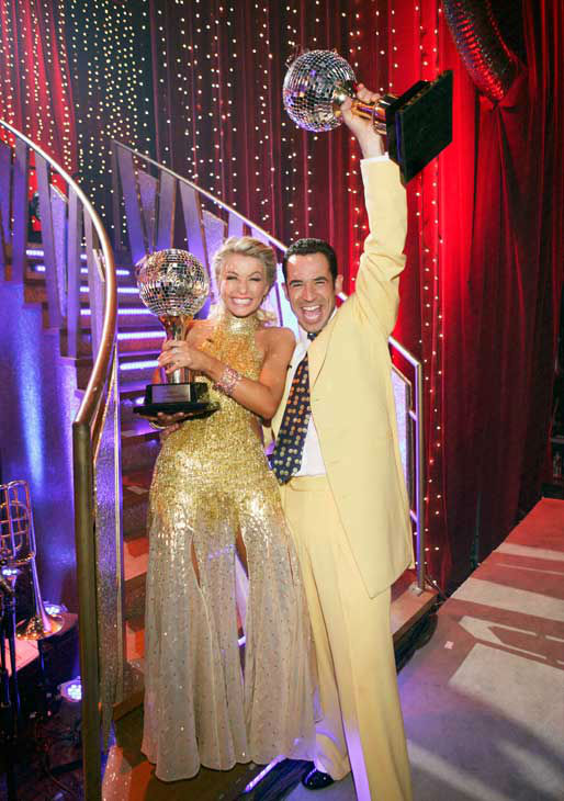 Helio Castroneves  appears in a still from the 2007 season 5 of 'Dancing With The Stars.'