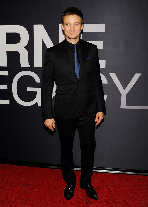 Actor Jeremy Renner attends the world premiere...