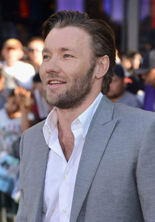 Joel Edgerton arrives at the Los Angeles premiere of 'The Odd Life of Timothy Green' on August 6, 2012.'