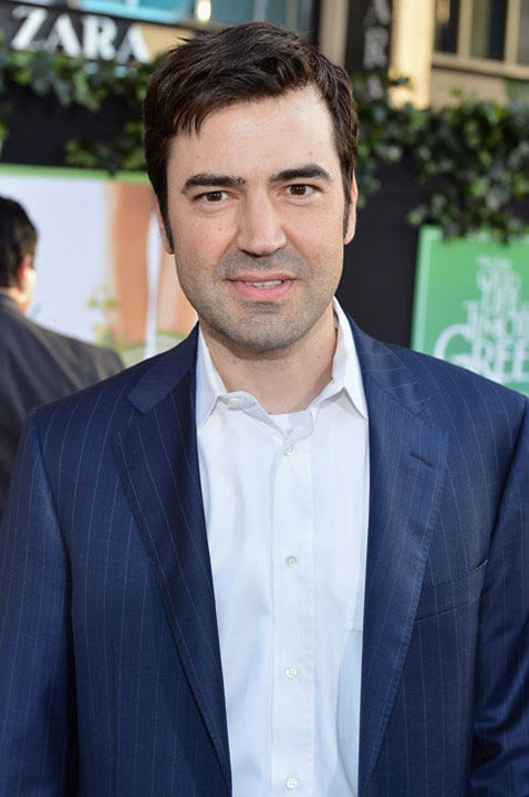 Ron Livingston arrives at the Los Angeles...