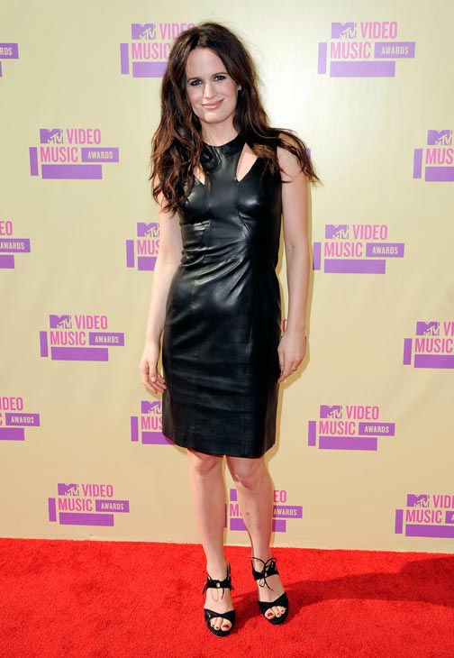 Elizabeth Reaser attends the MTV Video Music...