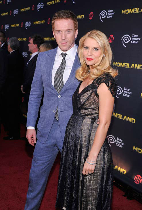"<div class=""meta image-caption""><div class=""origin-logo origin-image ""><span></span></div><span class=""caption-text"">Actors Damian Lewis and  Claire Danes attend the Showtime and Time Warner Cable hosted premiere screening and reception to launch the second season of 'Homeland' at the Intrepid Sea-Air-Space Museum on September 7, 2012 in New York City. 'Homeland' returns to Showtime for its second season debut on Sunday, September 30th at 10 p.m. ET/PT.   (Stephen Lovekin/Getty Images for Showtime)</span></div>"