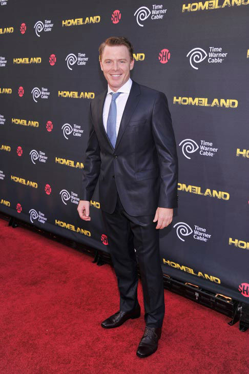 "<div class=""meta ""><span class=""caption-text "">Actor Diego Klattenhoff attends the Showtime and Time Warner Cable hosted premiere screening and reception to launch the second season of 'Homeland' at the Intrepid Sea-Air-Space Museum on September 7, 2012 in New York City. 'Homeland' returns to Showtime for its second season debut on Sunday, September 30th at 10 p.m. ET/PT.   (Stephen Lovekin/Getty Images for Showtime)</span></div>"