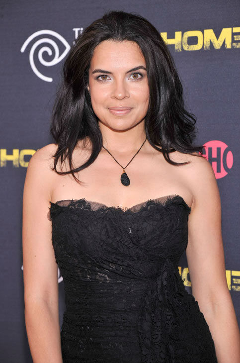 Actress Zuleikha Robinson attends the Showtime and Time Warner Cable hosted premiere screening and reception to launch the second season of 'Homeland' at the Intrepid Sea-Air-Space Museum on September 7, 2012 in New York City.