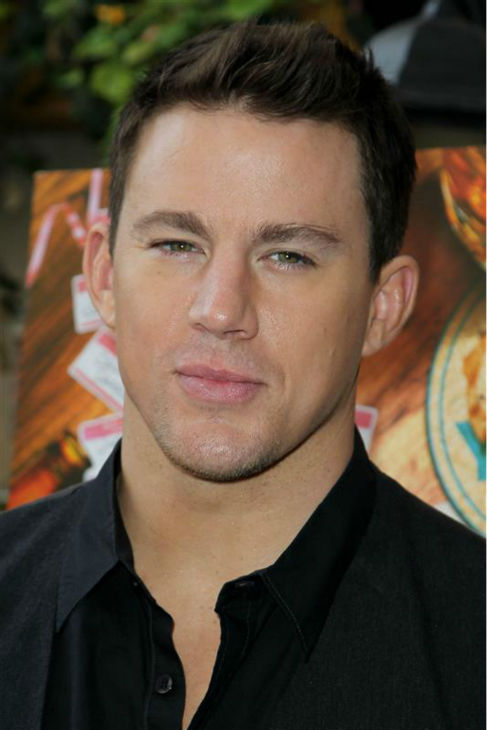 The &#39;Keep-Calm-and-Keep-Staring&#39; stare: Channing Tatum appears at the &#39;10 Years&#39; Brunch reunion event at Hotel Chantelle in New York on Sept. 16, 2012. <span class=meta>(Amanda Schwab &#47; Statraksphoto.com)</span>