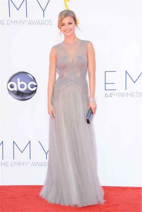 Emily VanCamp of ABC&#39;s &#39;Revenge&#39; appears at the 2012 Primetime Emmy Awards in Los Angeles on Sept. 23, 2012.  <span class=meta>(Kyle Rover &#47; Startraksphoto.com)</span>