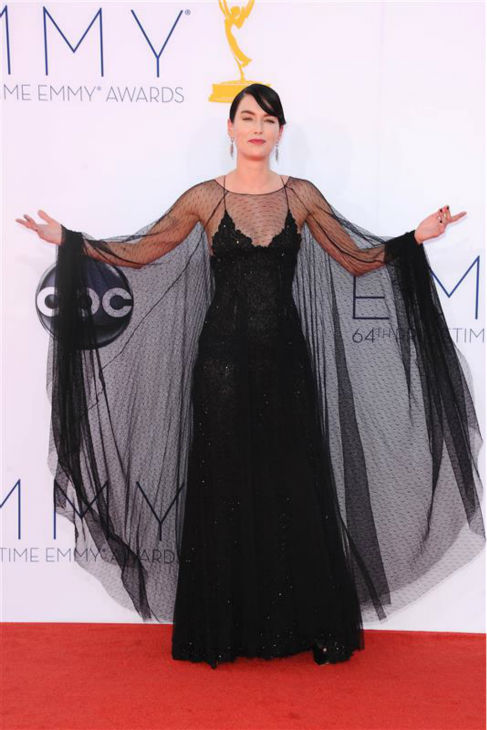 "<div class=""meta image-caption""><div class=""origin-logo origin-image ""><span></span></div><span class=""caption-text"">Lena Headey (Cersei Lannister on 'Game of Thrones') appears at the 2012 Emmy Awards in Los Angeles on Sept. 22, 2013.  (Kyle Rover / Startraksphoto.com)</span></div>"