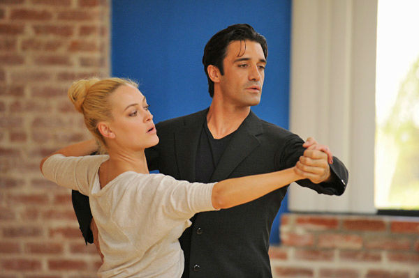 Gilles Marini and last season's champ Peta Mu
