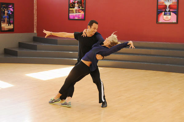 Helio Castroneves and Chelsie Hightower appear in a rehearsal photo for &#39;Dancing With The Stars: All-Stars&#39; season 15.DANCING WITH THE STARS: ALL-STARS - REHEARSALS - &#34;Dancing with the Stars: All-Stars&#34; marks the first time prior contestants will return for another chance at winning the coveted mirror ball trophy for a very special All-Star season. The show premieres MONDAY, SEPTEMBER 24 &#40;8:00-10:00 p.m., ET&#41;, followed by the premiere of &#34;Dancing with the Stars the Results Show&#34; on TUESDAY, SEPTEMBER 25 &#40;8:00-10:00 p.m., ET&#41; on the ABC Television Network. &#40;ABC&#47;TODD WAWRYCHUK&#41; HELIO CASTRONEVES, CHELSIE HIGHTOWER <span class=meta>(ABC Photo&#47; Todd Wawrychuk)</span>