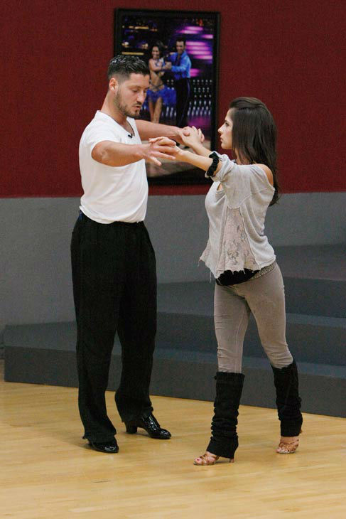 "<div class=""meta ""><span class=""caption-text "">Kelly Monaco, who won in season 1, and Valentin Chmerkovskiy appear in a rehearsal photo for 'Dancing With The Stars: All-Stars' season 15. (ABC Photo/ Rick Rowell)</span></div>"