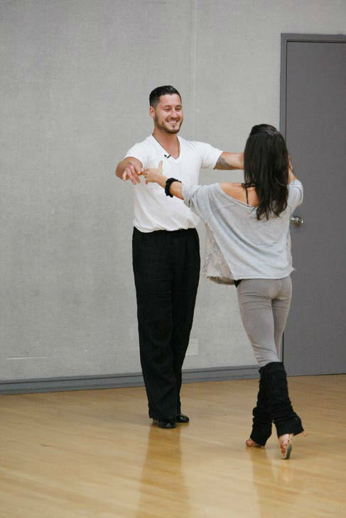 Kelly Monaco, who won in season 1, and Valentin Chmerkovskiy appear in a rehearsal photo for &#39;Dancing With The Stars: All-Stars&#39; season 15. <span class=meta>(ABC Photo&#47; Rick Rowell)</span>