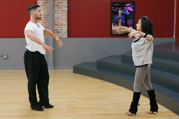 "<div class=""meta image-caption""><div class=""origin-logo origin-image ""><span></span></div><span class=""caption-text"">Kelly Monaco, who won in season 1, and Valentin Chmerkovskiy appear in a rehearsal photo for 'Dancing With The Stars: All-Stars' season 15. (ABC Photo/ Rick Rowell)</span></div>"