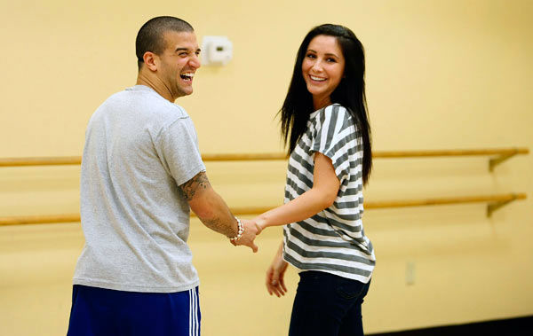 "<div class=""meta image-caption""><div class=""origin-logo origin-image ""><span></span></div><span class=""caption-text"">Bristol Palin and two-time champ Mark Ballas, who were partners in season 11, appear in a rehearsal photo for 'Dancing With The Stars: All-Stars' season 15. (ABC Photo/ Ralph Freso)</span></div>"