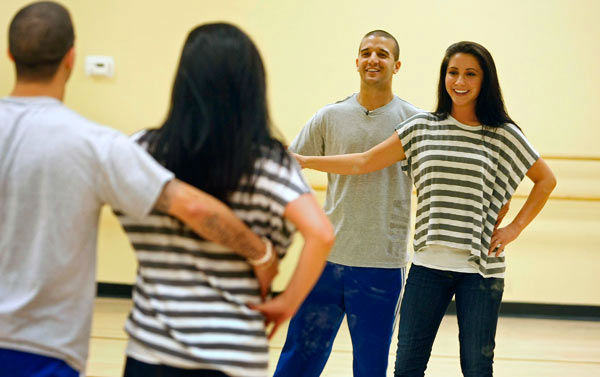 "<div class=""meta ""><span class=""caption-text "">Bristol Palin and two-time champ Mark Ballas, who were partners in season 11, appear in a rehearsal photo for 'Dancing With The Stars: All-Stars' season 15. (ABC Photo/ Ralph Freso)</span></div>"