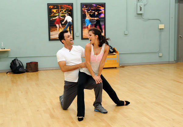 Melissa Rycroft and Tony Dovolani, who were...