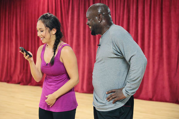 Emmitt Smith and two-time champ Cheryl Burke, who were partners in season 3,