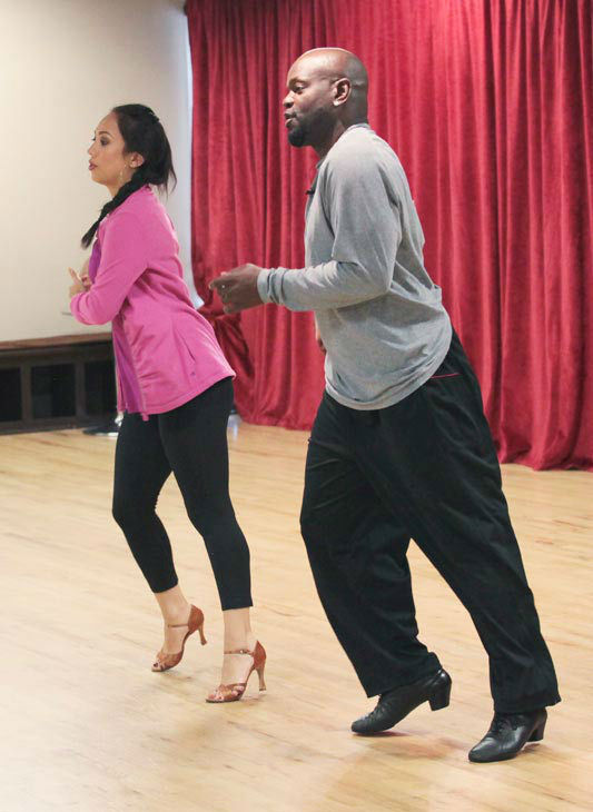 Emmitt Smith and two-time champ Cheryl Burke, who were partners in season 3, a
