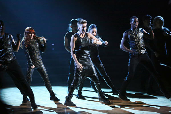 "<div class=""meta image-caption""><div class=""origin-logo origin-image ""><span></span></div><span class=""caption-text"">Justin Bieber performed on 'Dancing With The Stars: The Results Show' on Tuesday, September 25, 2012. He sang his second single off his 'Believe' album titled 'As Long as You Love Me.' (ABC Photo/ Adam Taylor)</span></div>"