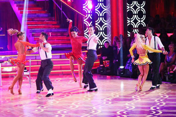 The Troupe also performed a number to 'Go Get It,' also choreographed by Gilkison on 'Dancing With The Stars: The Results Show' on Tuesday, September 25, 2012.