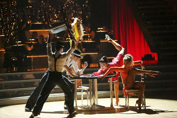 "<div class=""meta image-caption""><div class=""origin-logo origin-image ""><span></span></div><span class=""caption-text"">The Troupe also performed a number to 'Go Get It,' also choreographed by Gilkison on 'Dancing With The Stars: The Results Show' on Tuesday, September 25, 2012. (ABC Photo/ Adam Taylor)</span></div>"