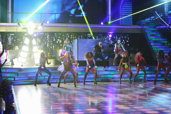 "<div class=""meta image-caption""><div class=""origin-logo origin-image ""><span></span></div><span class=""caption-text"">Pitbull made the primetime television debut of his new single, 'Don't Stop the Party' on 'Dancing With The Stars: The Results Show' on Tuesday, September 25, 2012. The song is from his upcoming album, 'Global Warming,' which is due out November 19.  (ABC Photo/ Adam Taylor)</span></div>"