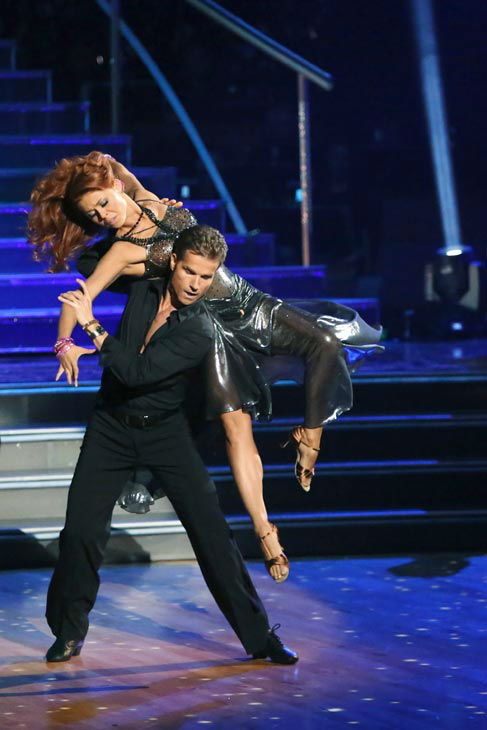 The opening number for the night featured all the pro dancers of the season and The Troupe to a medley of &#39;I Wanna Dance with Somebody&#47;Dance Again,&#39; choreographed by Jason Gilkison on &#39;Dancing With The Stars: The Results Show&#39; on Tuesday, September 25, 2012. <span class=meta>(ABC Photo&#47; Adam Taylor)</span>