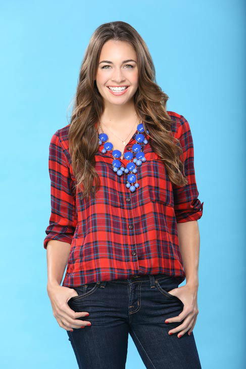 Amanda appears in a promotional photo for the seventeenth edition of 'The Bachelor,' which stars Sean Lowe and premieres in January 2013, on the ABC Television Network.